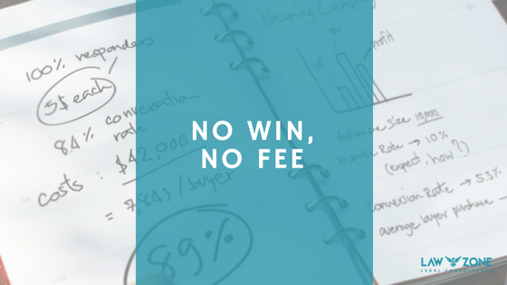 No win, no fee