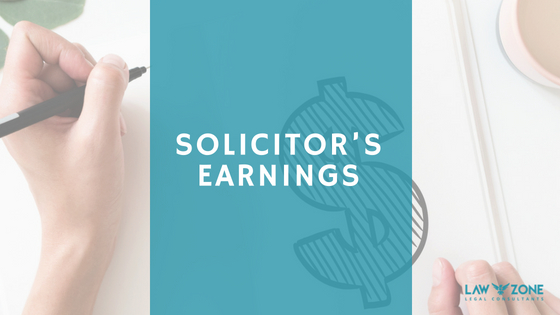 Solicitor's earnings