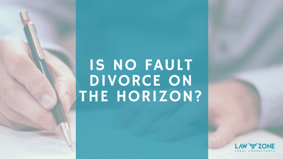 Is no fault divorce on the horizon?