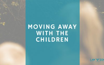 Moving away with the children