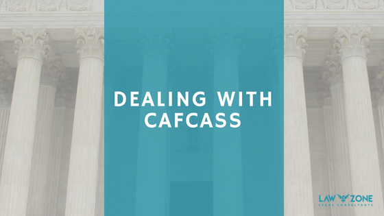 Dealing with CAFCASS