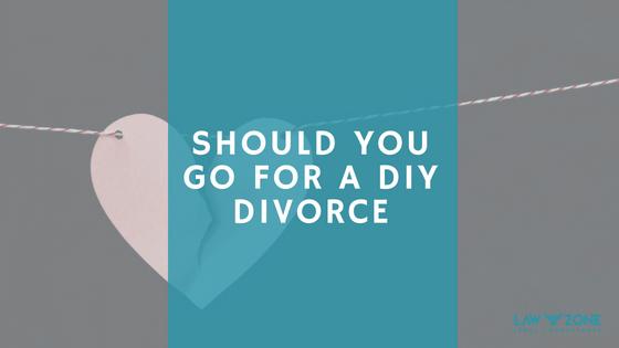 SHOULD YOU GO FOR A DIY DIVORCE