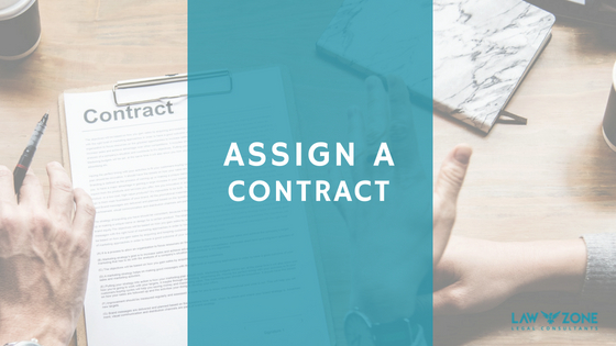 Assigning a contract