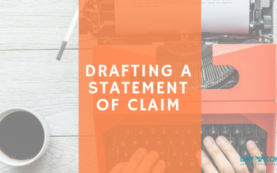 Drafting a Statement of Claim