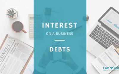 Interest on business debts