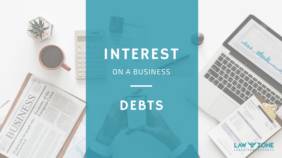 Interest on business debts