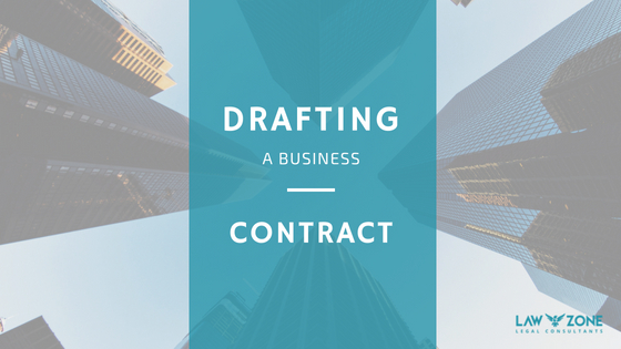 Drafting a Business contract