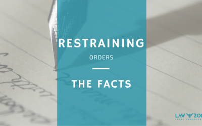 Restraining Orders. The Facts.
