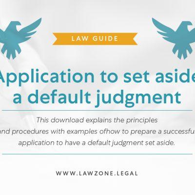 Application default judgement-01