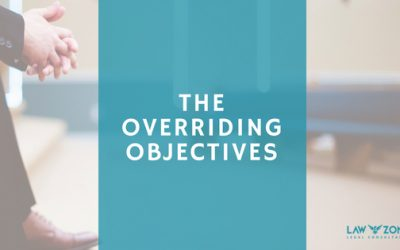 The overriding objectives of the court
