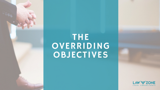THE OVERRIDING OBJECTIVES